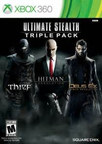 ultimate stealth triple pack xbox  game