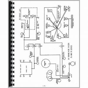 Deutz Allis D13006 Tractor Wiring Diagram Service Manual