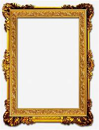 gold picture frames Gold Frame, Frame Clipart, Frame PNG Image and Clipart for ...
