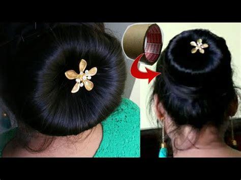 minute bun hairstylemaking juda  waste cello tape