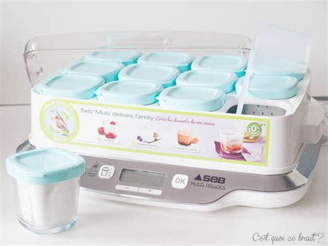 le bruit en cuisine mes yaourts maison avec la multi délices de seb concours