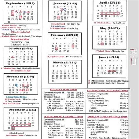 school calendar approved berkeley heights school board