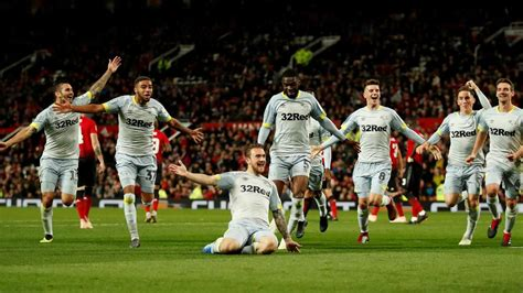 Frank Lampard's Derby knock Manchester United out of ...