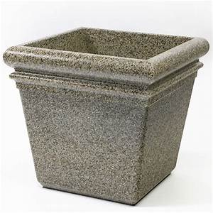 "Commercial Zone® 18"" StoneTec Indoor or Outdoor Planter ..."
