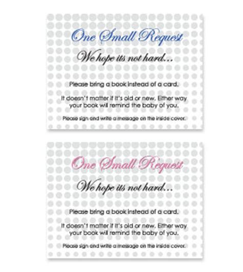 printable baby shower bring book   card