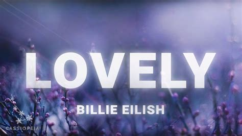 billie eilish lovely lyrics ft khalid youtube