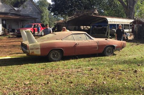 Barn Find! 1969 Dodge Daytona Charger Discovered In