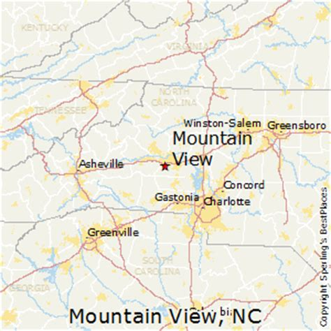 places    mountain view north carolina
