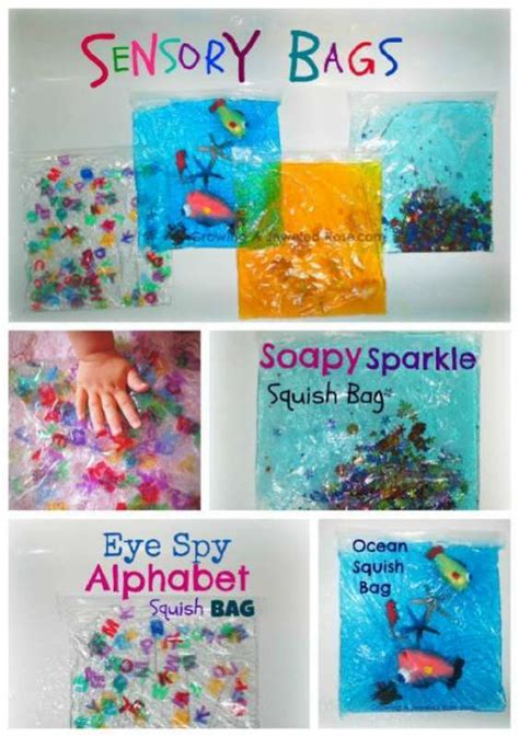 play 10 tips to keep activities clean 109 | sensory bags play 3