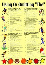 English Omission Exercises For Class 10  Cbse Class 10