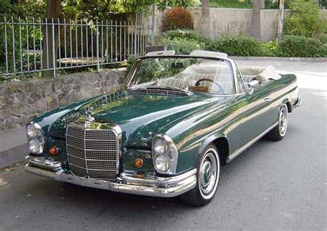 1967 Mercedes-benz 250 Se Cabriolet