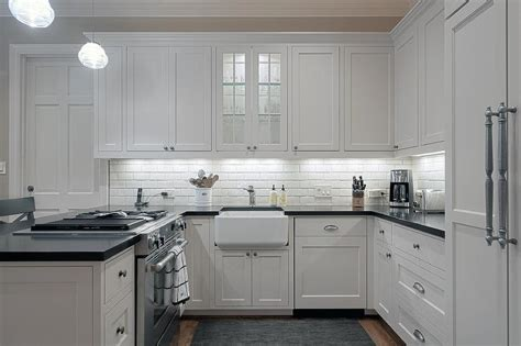 small  shaped kitchen transitional kitchen