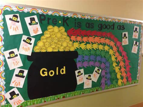 Preschool Saint Patricks Day Bulletin Board