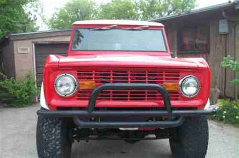 Buy Used 1973 Ford Bronco With A ( Brand New ) 302 V8 Auto
