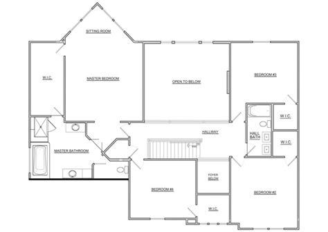 Fischer Homes Floor Plans by Fischer Homes 2nd Floor Floor Plan 2012 Bia Parade Of