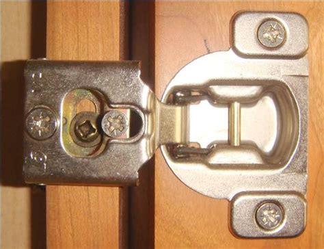 how to adjust cabinet door hinges ehow