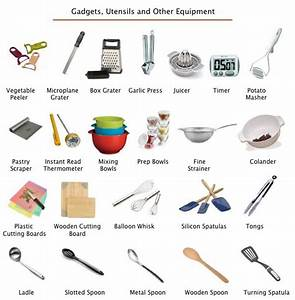 Kitchen Design Gallery: Different Tools And Equipment In