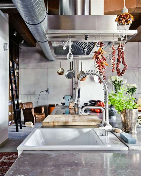 cuisines style industriel cuisine style industriel une beauté authentique