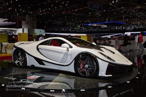 spania gta brought   updated supercar  geneva