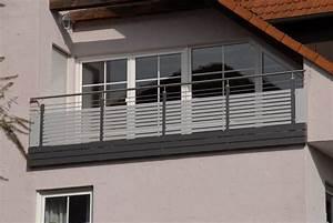 Balkongeländer Glas Anthrazit : edelstahlgel nder mit glas und alu rettner ziegler balkongel nder ~ Michelbontemps.com Haus und Dekorationen