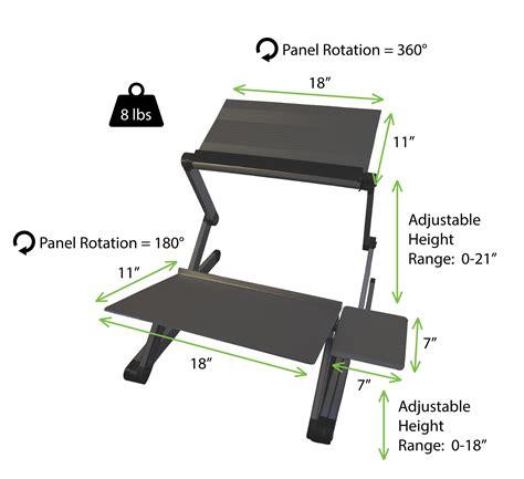 standing desk converter amazon amazon com workez standing desk conversion kit