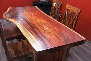 Designer Esstisch Holz : esstisch suar holz massiv designer luxus natur zinn 200x96x80 ~ Markanthonyermac.com Haus und Dekorationen