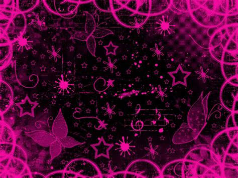 Cute Black And Pink Wallpaper 8 Background Wallpaper