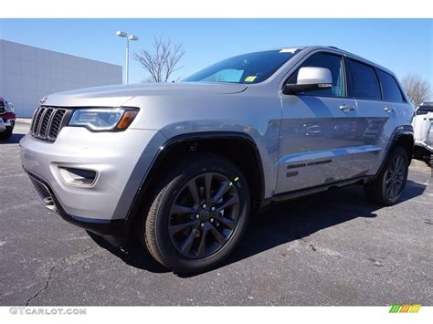 2016 Billet Silver Metallic Jeep Grand Cherokee Limited