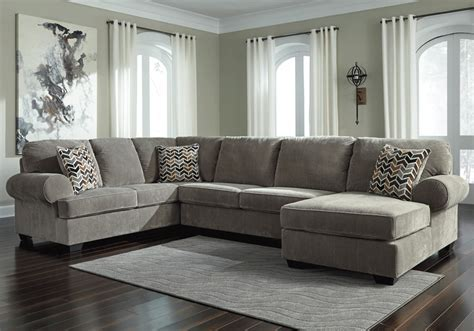 Jinllingsly Gray 3pc. LAF Sofa Sectional   Louisville