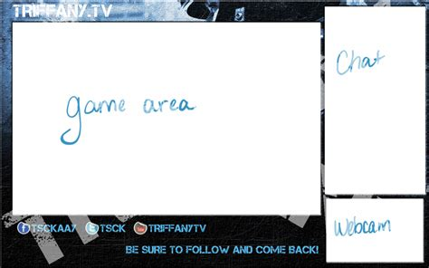 First Twitch Layout Design By Triffany On Deviantart