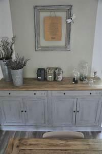 Deco salon style de buffet que je recherche pour utilise for Idee deco cuisine avec meuble tv bois massif
