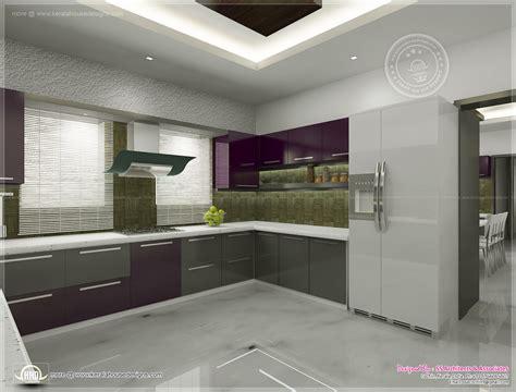 Kitchen Interior Views By Ss Architects, Cochin  Kerala
