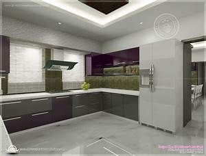kitchen interior views by ss architects cochin kerala With interior design for kitchen in kerala