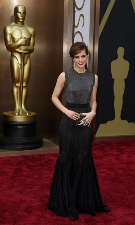 Harry Potter Emma Watson Dazzles The Oscar Awards