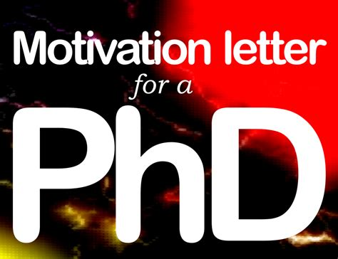 guide  beginners  write phd motivation letter