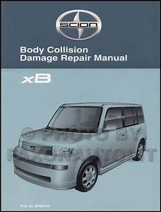 2005 Scion Xb Repair Shop Manual Original 2 Volume Set