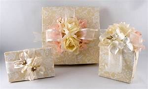 Vintage wedding gift wrap for Wedding gift wrapping ideas