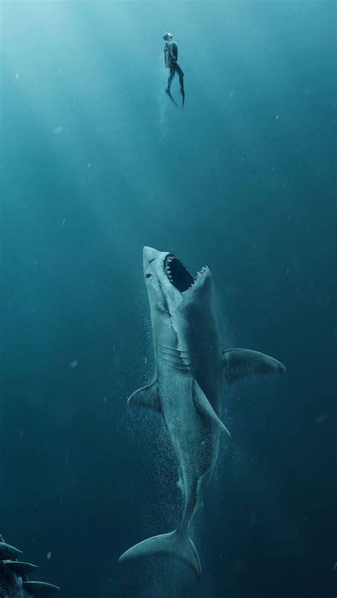 wallpaper  meg shark  movies