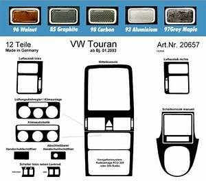 Dash Kit 12pc Vw Touran Manual Vw Radio Rhd