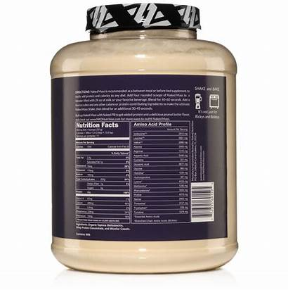 Protein Gainer Powder Nutrition Weight Rice Naked
