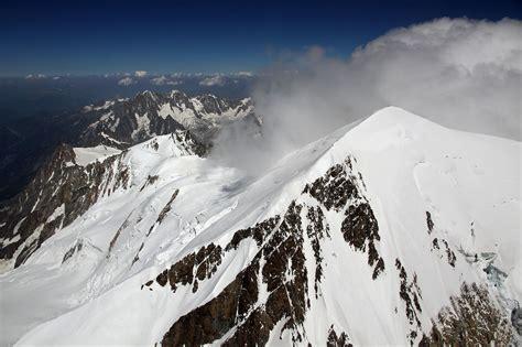 altitude du mont blanc helico vol au dessus du mont blanc