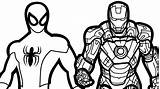 Iron Cartoon Drawing Coloring Pages Getdrawings sketch template