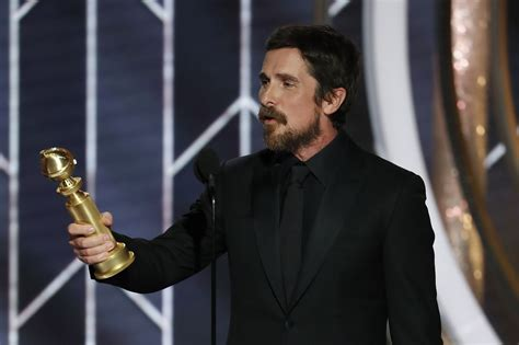 Golden Globes Everyone Forgot Christian Bale