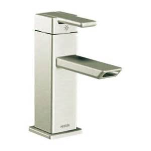 moen s6700bn 90 degree one handle low arc bathroom faucet