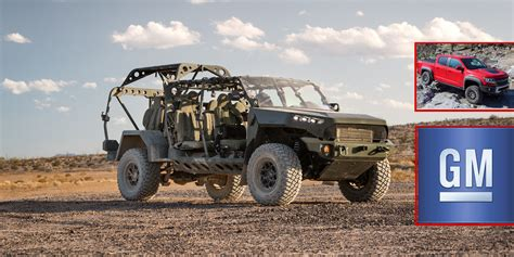 GM's ZR2 Wins $214M Contract For Army's New Infantry Vehicle