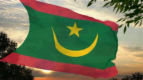 flag  anthem  mauritania  transition period