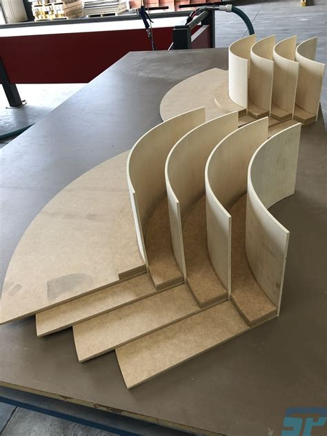 mdf curved ceiling coffer scandinavian profiles machining fabricating building materials