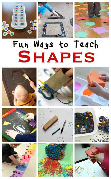 teach shape recognition  preschoolers