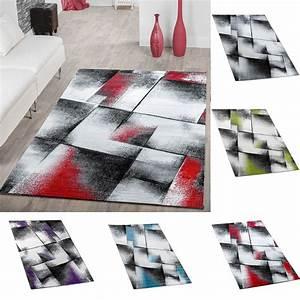 Türkische Teppiche Modern : designer teppich wohnzimmer modern kurzflorteppich meliert in versch farben moderne teppiche ~ Markanthonyermac.com Haus und Dekorationen