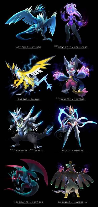 Pokemon Fusion Fan Fusions Wallpapers Mega Meme